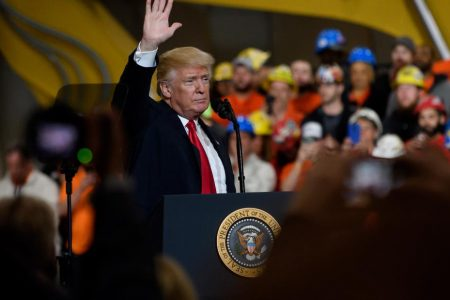 Trump makes last-minute pitch to prevent defeat in crucial Ohio special election