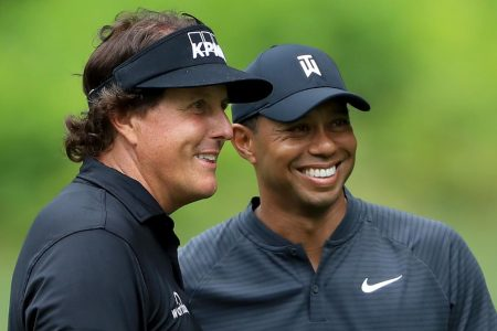 Tiger Woods and Phil Mickelson targeting $10 million Thanksgiving duel