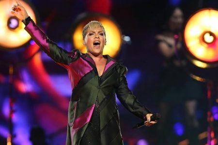 Pink cancels some Australian concert dates after hospitalization
