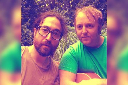 Lennon and McCartney sons come together for selfie