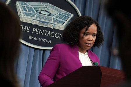 Exclusive: Pentagon spokeswoman under investigation for misusing staff, retaliating against complaints
