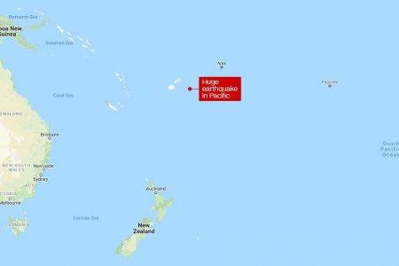 Major earthquakes strike near Fiji and in Indonesia's Lombok island