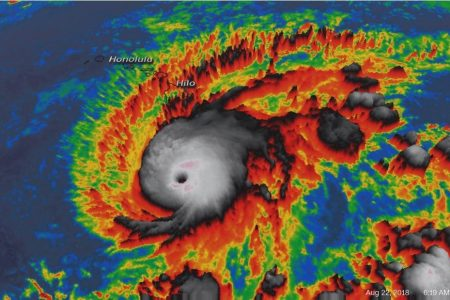 Hurricane Lane strengthens to a dangerous Category 5 storm on its way to Hawaii