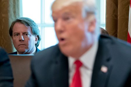 Donald Trump can't get his Don McGahn story straight