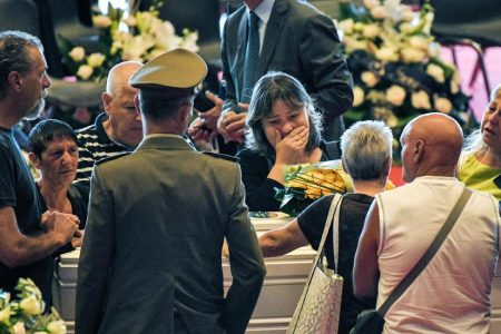 'A Wound to the Heart of Genoa': Italy Buries Victims of Bridge Collapse