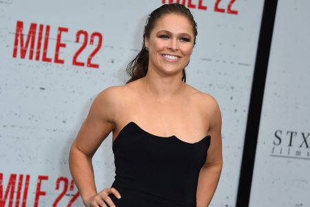WWE's Ronda Rousey gets real about 'Mile 22,' speech disorders, wrestling fans and #MeToo