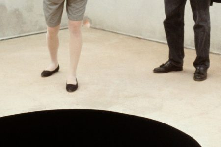 Man falls into black hole at museum because not even art is safe anymore