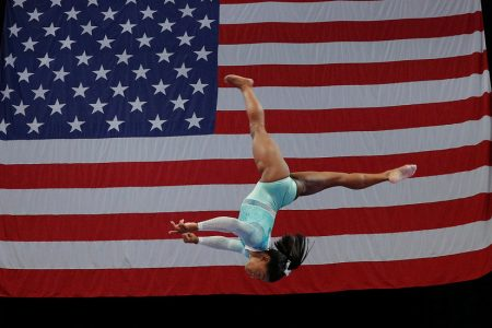 Simone Biles Cruises to All-Around Title at US Championships