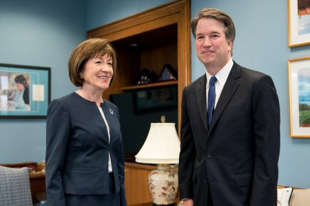Roe Is 'Settled Law,' Kavanaugh Tells Collins. Democrats Aren't Moved.