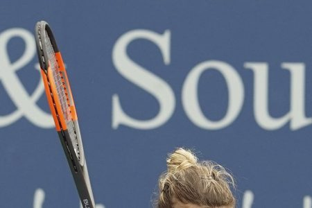 Halep beats Barty in first of 2 matches in Cincinnati