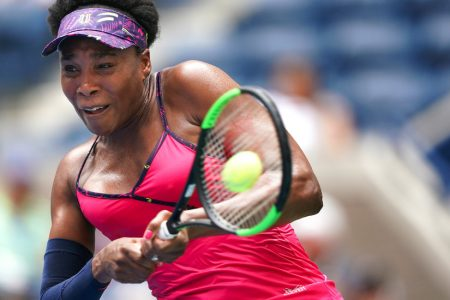 US Open Live Updates: No. 1 Halep Exits; Williams Sisters Shine