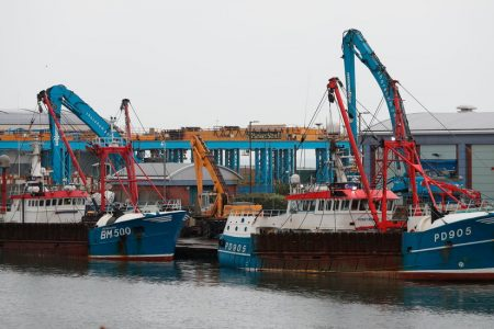 French and UK Fishing Boats Clash in 'Scallop War'