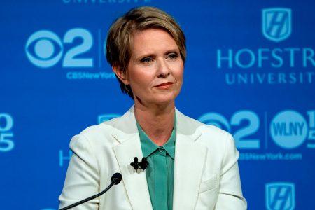 Cynthia Nixon Relives a One-Night Debate vs. Andrew Cuomo