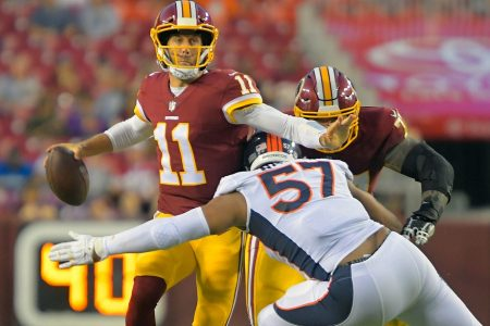 For the Redskins, a healthy Alex Smith is more important than an in-sync offense