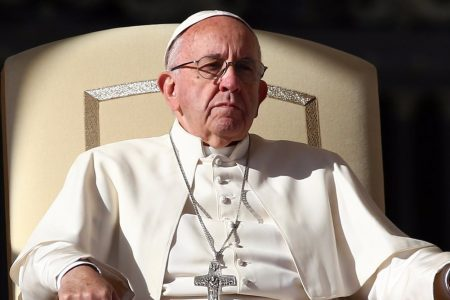 Pope Francis silent on Catholic Church sex scandal amid calls for his resignation