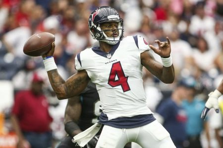 A healthy Deshaun Watson is looking to fulfill the promise of a rookie season derailed by injury