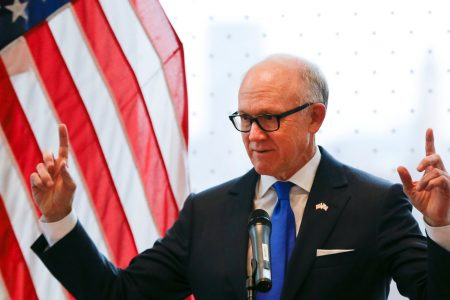 US Ambassador Urges Britain To Ditch 'Flawed' Iran Nuclear Deal