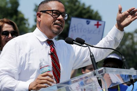 Most Top Democrats, Progressive Groups Reserve Judgment On Keith Ellison Allegations