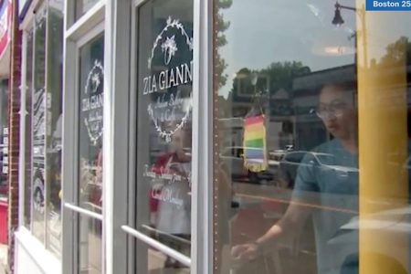 Customers Rally After Yelp Reviewer Calls Cafe's Gay Pride Flag 'Disgusting'