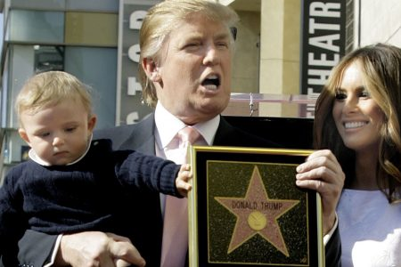 Fake Donald Trump stars pop up on Hollywood Walk of Fame, report says