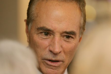 Congressman Chris Collins says insider trading charges are 'meritless,' refuses to give up election bid