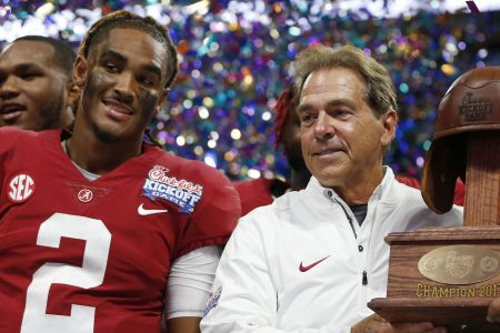 Nick Saban has lost control of Alabama's QB competition