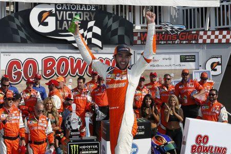 Chase Elliott tops Martin Truex Jr. at Watkins Glen to score first NASCAR Cup win