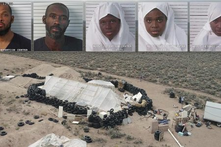 Woman arrested at 'extremist Muslim' New Mexico compound moved to federal custody, sheriff says