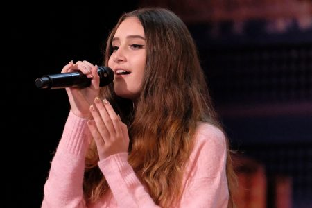 'America's Got Talent': Makayla Phillips, 15, dedicates emotional performance to 'hero' dad