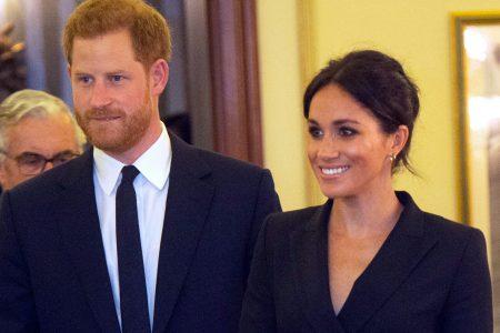 Duchess Meghan dons a tuxedo minidress for 'Hamilton' gala for charity