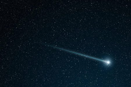 Green Comet Makes Closest Approach to Earth
