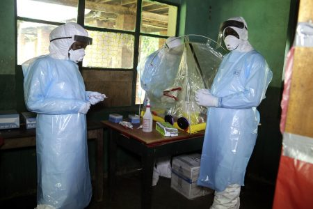 Patients recover after experimental Ebola treatment, Congo says