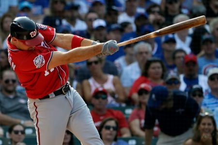 Ryan Zimmerman drives in six runs in Nationals' 9-4 rout of Cubs
