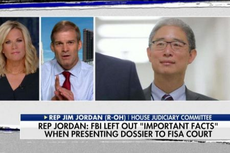 Jim Jordan: Top Dems Ripping GOP Probe into Bruce Ohr 'Need to Look at the Facts'