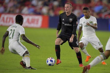 Wayne Rooney strikes again — twice — as DC United beats Portland
