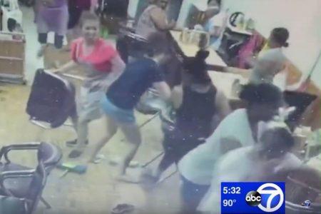 Brooklyn nail salon brawl over eyebrow wax stirs racially tinged protests