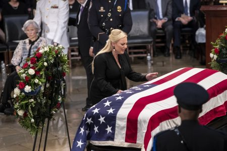 Twitter suspends account threatening Meghan McCain during ongoing services for Sen. John McCain