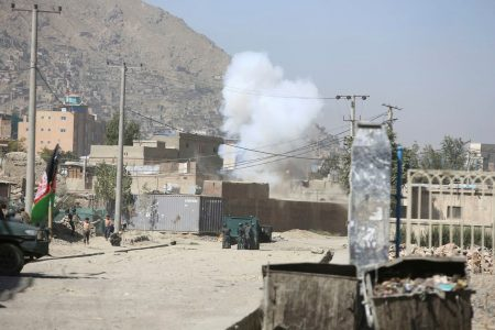 Rocket attack shakes Kabul as Afghan president marks start of Eid holiday