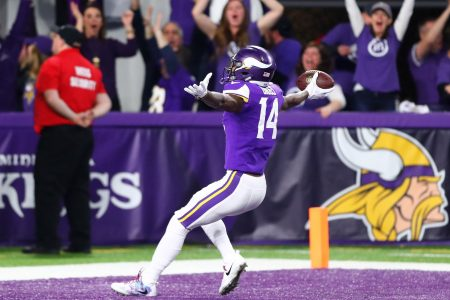 Fantasy football stock watch: Stefon Diggs among draft's hot wide receivers