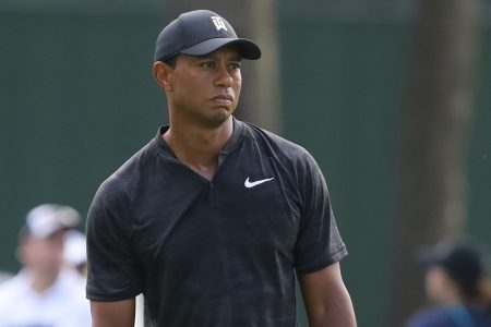 Tiger Tracker: Follow Tiger Woods' Saturday round shot-by-shot at the Northern Trust