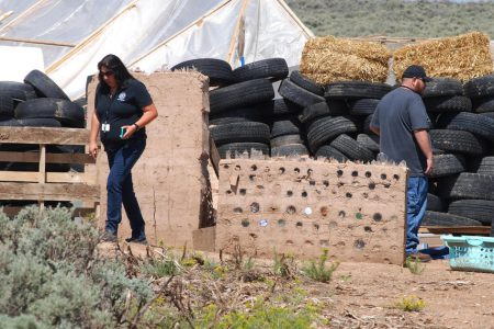 Man at filthy New Mexico compound was training kids to commit school shootings, prosecutors say