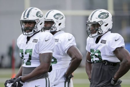 Jets' tight ends in tightly contested competition