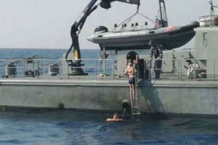 Woman who fell off cruise ship rescued after treading water for 10 hours: 'I am very lucky to be alive'
