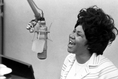 What it was like to record with Aretha Franklin