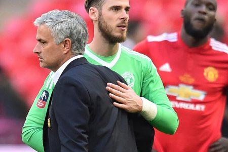 Manchester United's Jose Mourinho Confirms David De Gea Contract Rumours