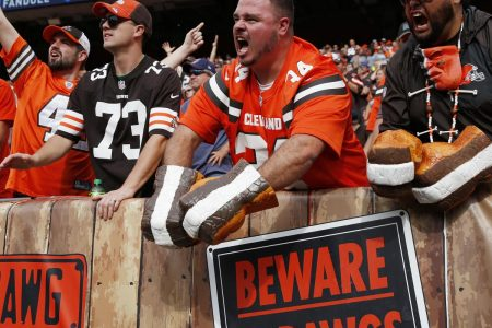 Bud Light to Provide Fans with Celebratory Beer When Browns Win 1 Game