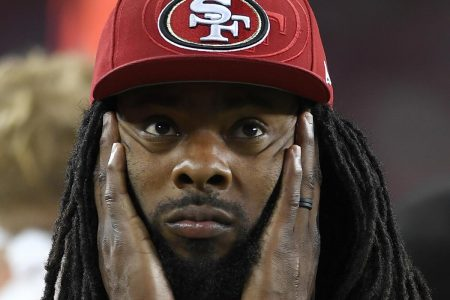 Richard Sherman Rips NFL's New Helmet Rule, Calls Adjustments 'Impossible' to Do
