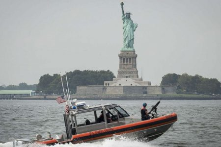 Statue of Liberty and Liberty Island evacuated after propane tanks catch fire