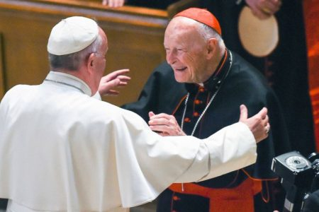 Archdiocese of Washington denies it was warned about sanctions against cardinal