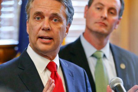Governor Calls for Kobach Recusal as Kansas Counts Votes